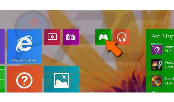 Creating app groups in Windows 8.1 step 4