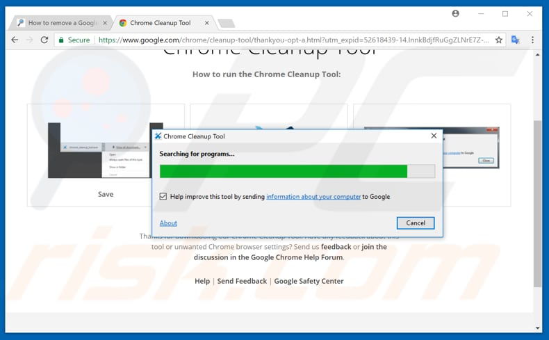 chrome cleanup tool safe