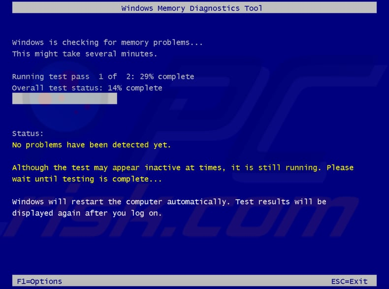 how to test your ram using windows memory diagnostic tool step 3