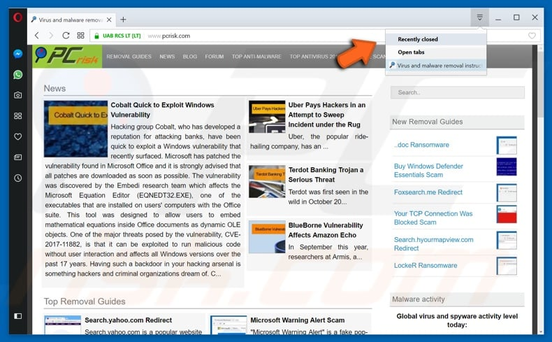 How to Restore Closed Tabs in Chrome, Firefox, Explorer