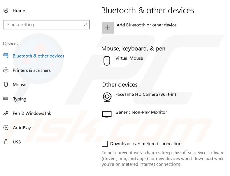 turn bluetooth on step 2
