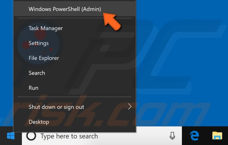 re-register windows apps using powershell step 1
