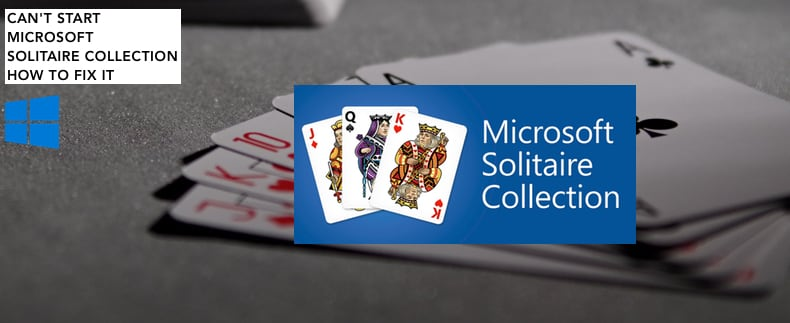 Can T Start Microsoft Solitaire Collection