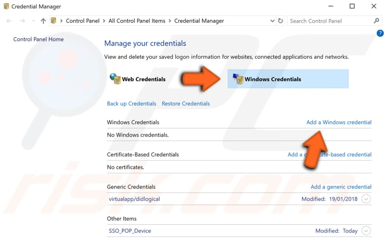 Enter Network Credentials On Windows 10 - Error Fix