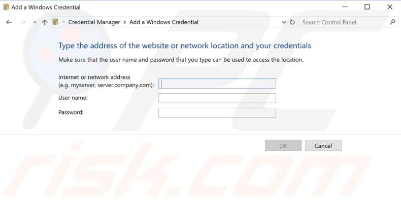 Enter Network Credentials On Windows 10 - Error Fix