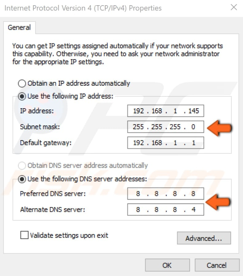 Ethernet Doesn T Have A Valid Ip Configuration