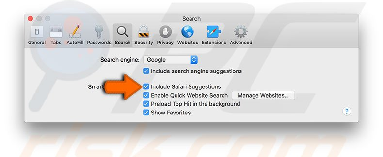 disable-safari-suggestions-mac