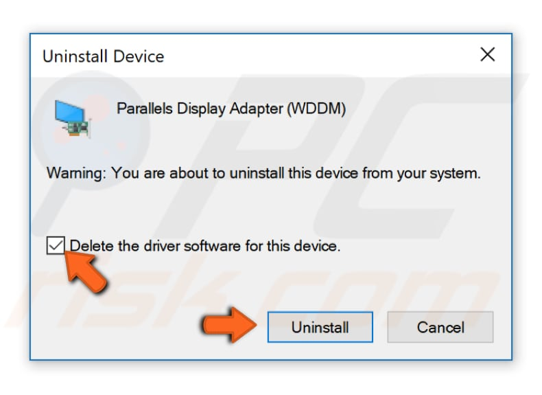 reinstall your drivers step 2