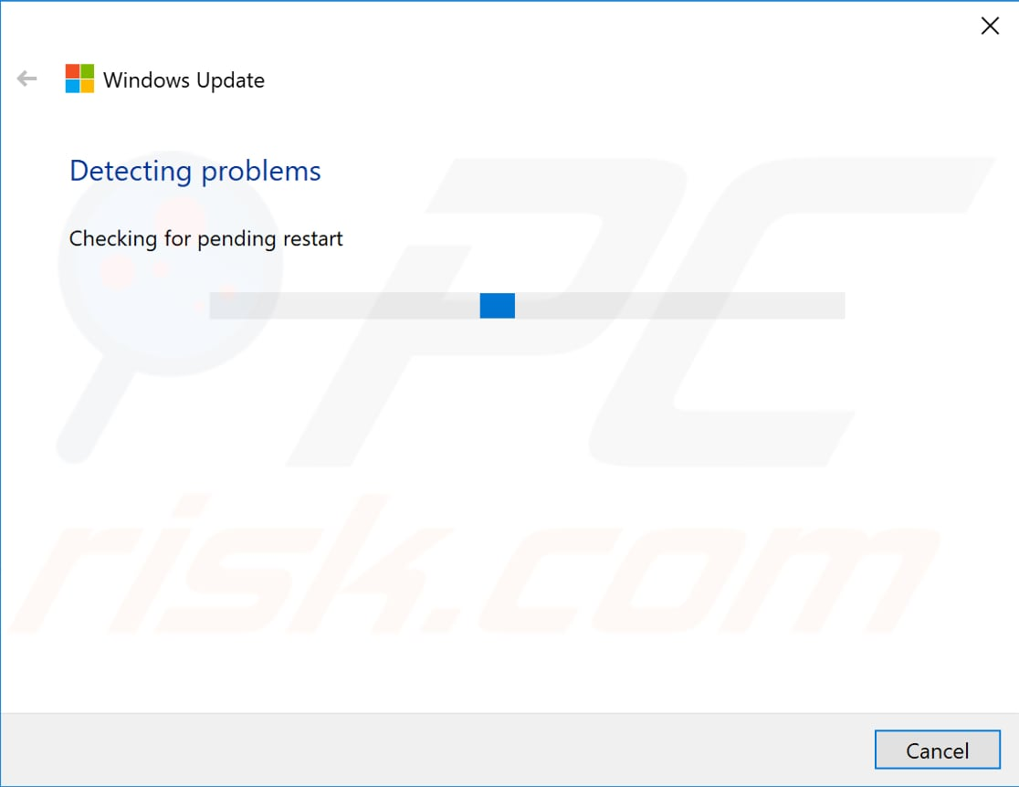 download windows update troubleshooter step 2