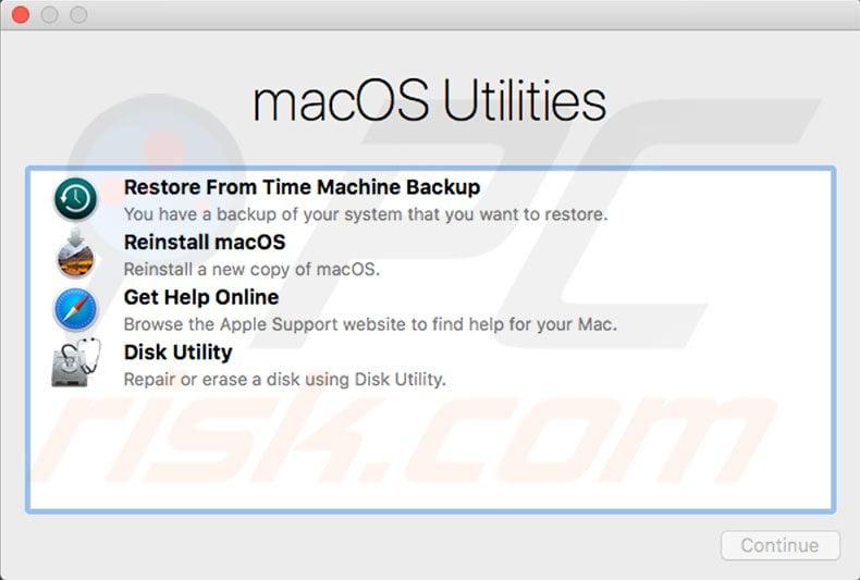 How to reinstall macOS via Internet Recovery?