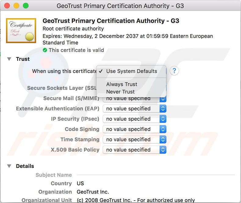 Safari can't establish a secure connection - how to fix?