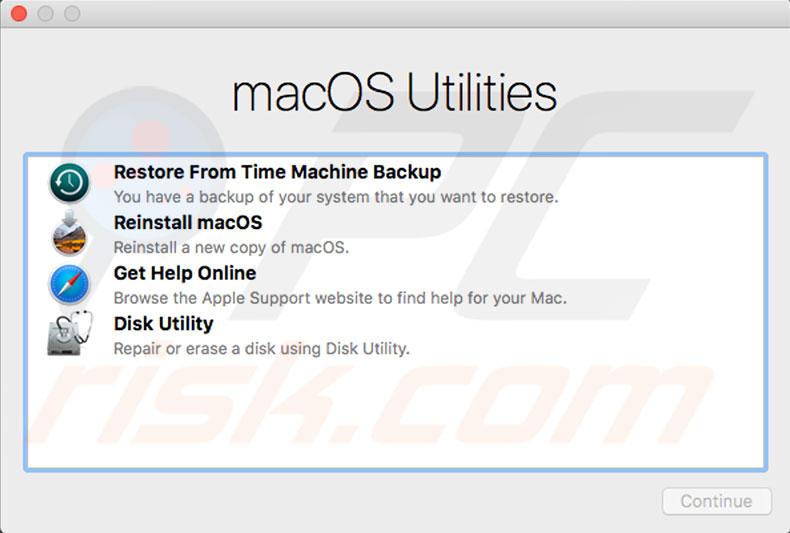 macOS reinstallation failed, error code 5010F (3), how to fix?