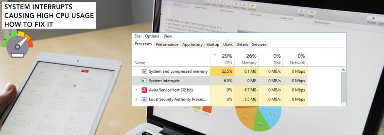 System Interrupts Causing High CPU Usage