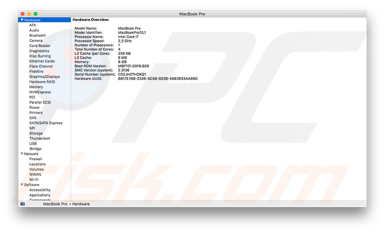 What hides under Utilities folder on Mac?