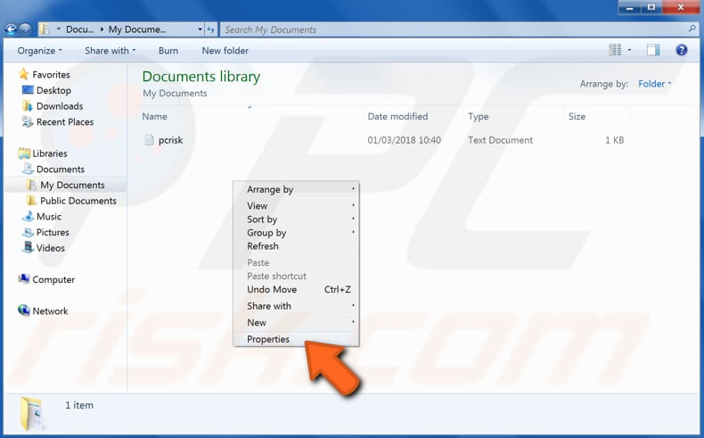 how to recover files and folders using previous versions step 4