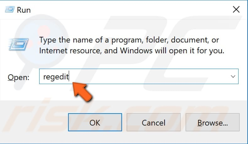 disable windows store using registry editor step 1
