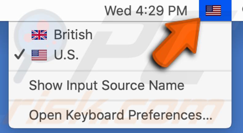 Alterar o idioma no Mac
