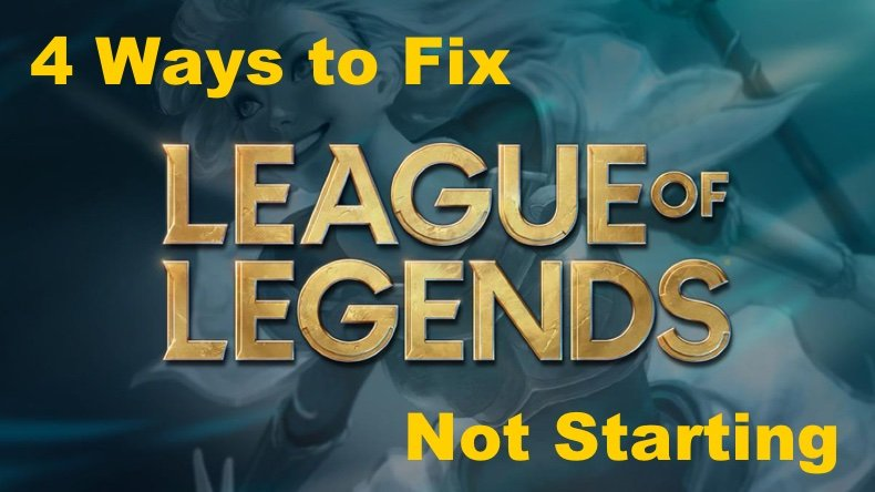 Fix League of Legends not launching