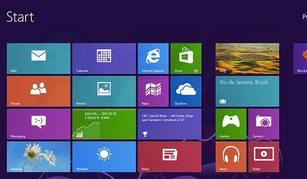 Checking App sizes and removing them in Windows 8 step 1