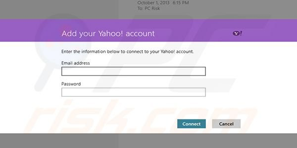 Adding Gmail to Windows 8 Mail app Step8 (entering account info)