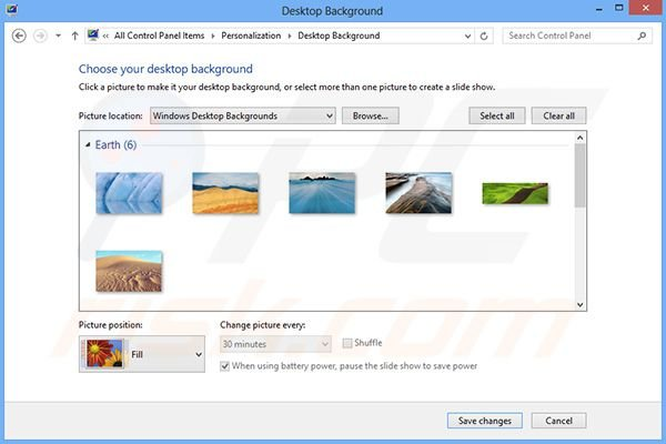 how to modify windows search query in regedit