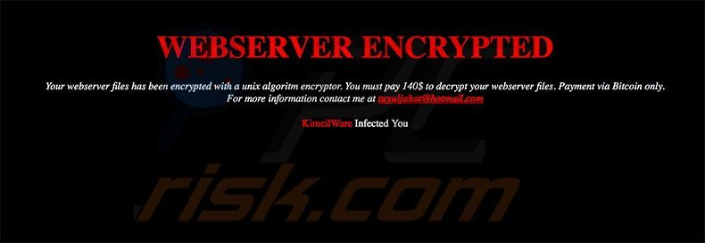 KimcilWare decrypt instructions