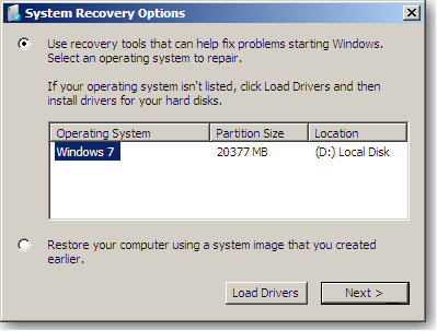 How to create a System Repair Disc in Windows 7