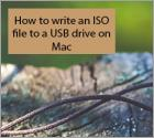 How to write an ISO file to an USB drive on Mac