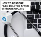 How To Restore Deleted Files?