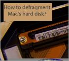 How to defragment Mac's hard disk?