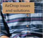 AirDrop issues and solutions