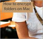 How to encrypt folders on Mac