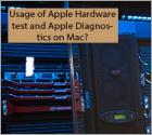 Usage of Apple Hardware test and Apple Diagnostics on Mac?