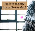 How to modify hosts file on Mac?