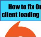 How to fix Origin client loading issues