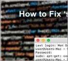 Fix 'sudo apt-get command not found' on Mac